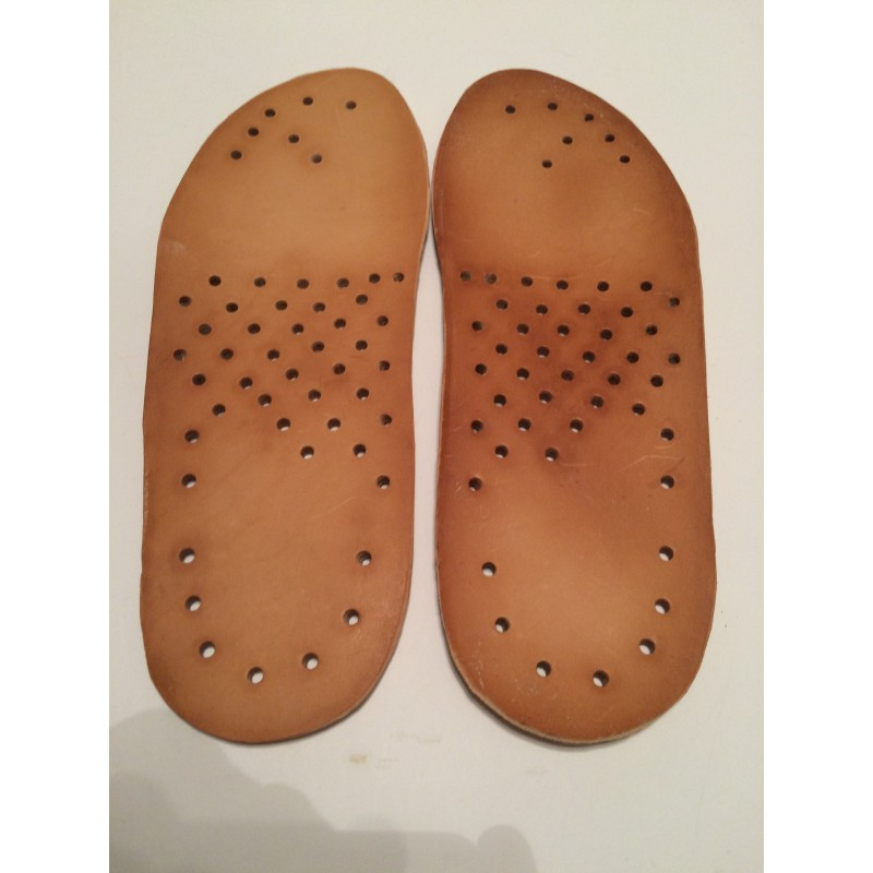 Wkładki do butów ze skóry naturalnej 4 mm cieniowane
